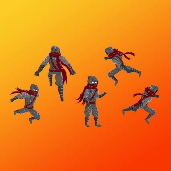 Спрайты для анимации движения