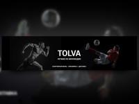"""Шапка для vk """"TOLVA"""""""