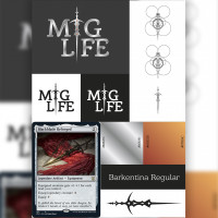 Logo: mtg life