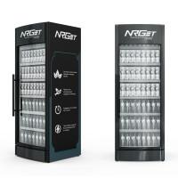 Дизайн холодильника и визуализация