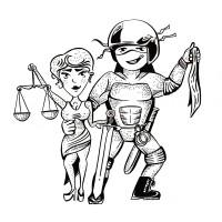Иллюстрация в стиле карикатуры