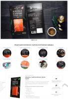 Разработка корпоративного сайта рыбной компании  «Карельские Рыбные Заводы»
