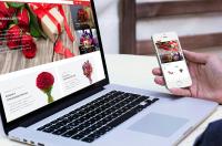 Готовый интернет-магазин цветов и букетов (флористики)