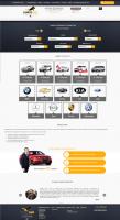 """Разработка сайта под ключ """"Аренда авто в Сочи"""" http://www.horse-car.ru/"""