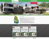 Разработка макета сайта по продаже домов www.2874141.ru