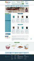 Разработка интернет магазина под ключ www.galacolor.ru