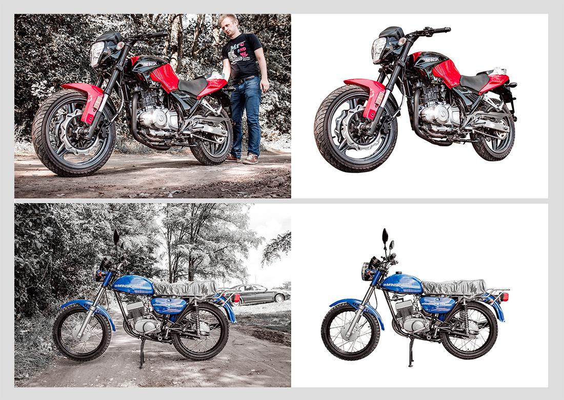 Обтравка мотоциклов