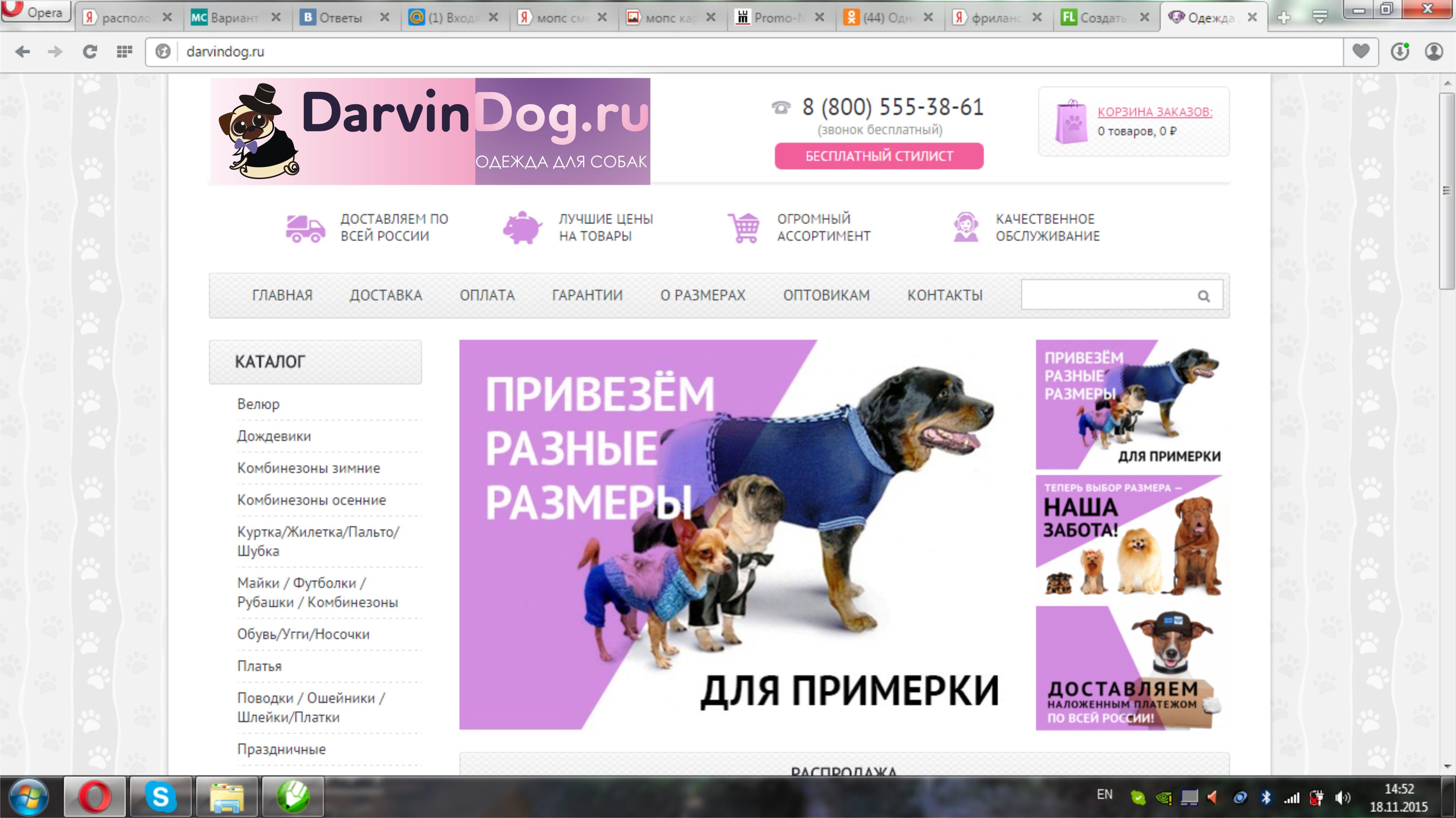 Создать логотип для интернет магазина одежды для собак фото f_213564c877b7d04e.jpg
