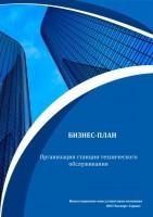 Бизнес-план организации станции технического обслуживания (СТО)