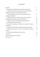 Формирование программы развития телекоммуникационного предприятия