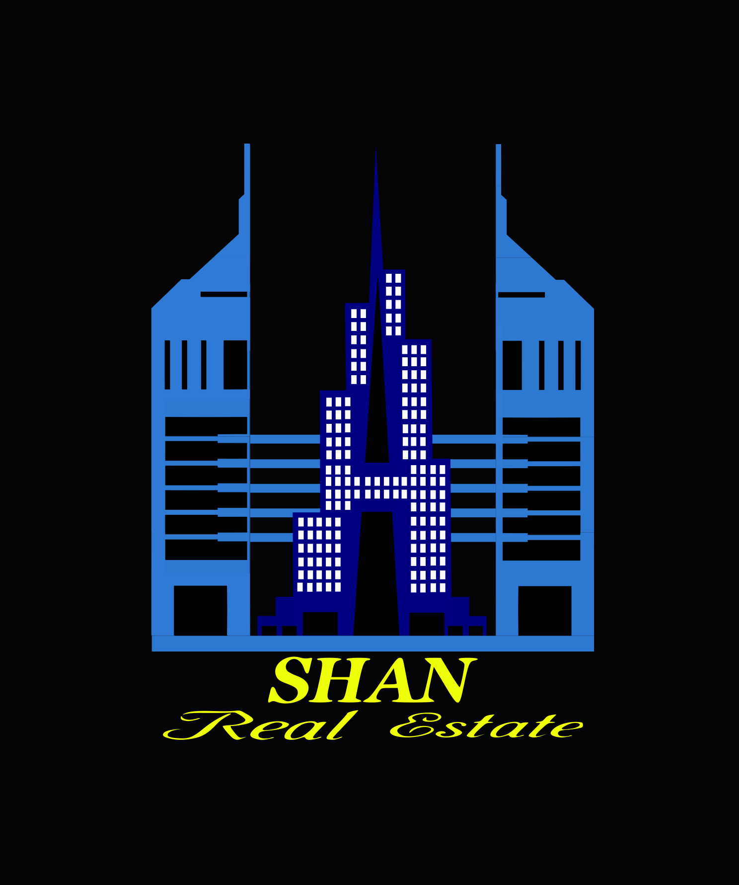 Логотип для агенство недвижемоти ШАН в Эмиратах. фото f_1345b77ccd957b34.png