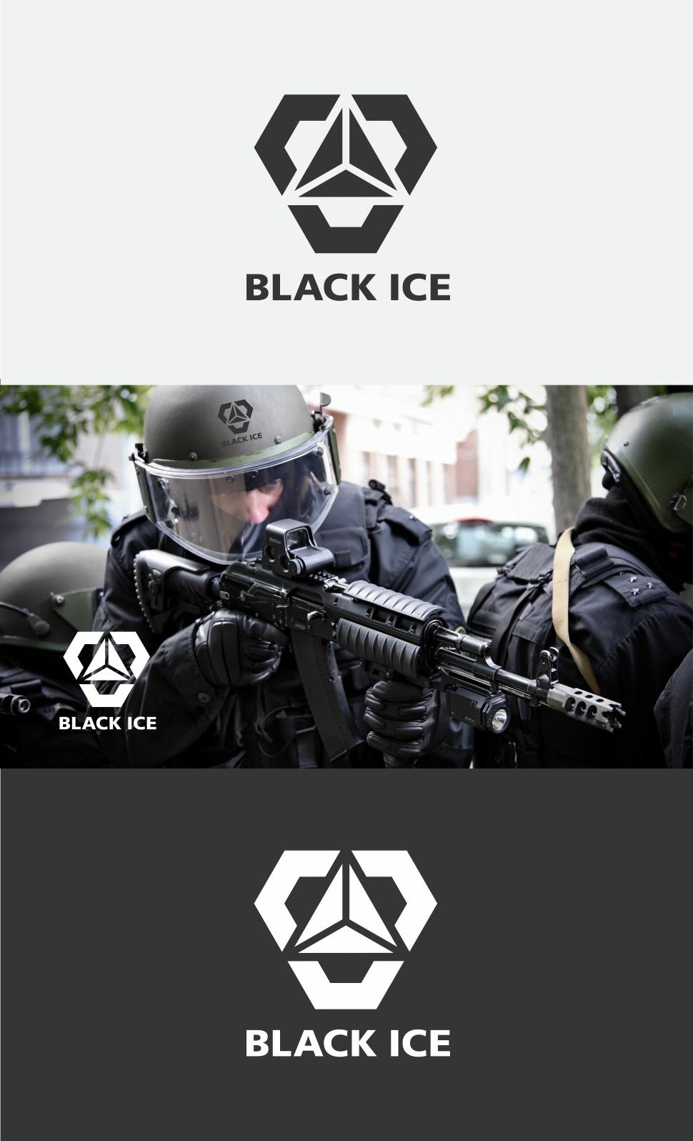 """Логотип + Фирменный стиль для компании """"BLACK ICE"""" фото f_29456e06d567a3f0.jpg"""