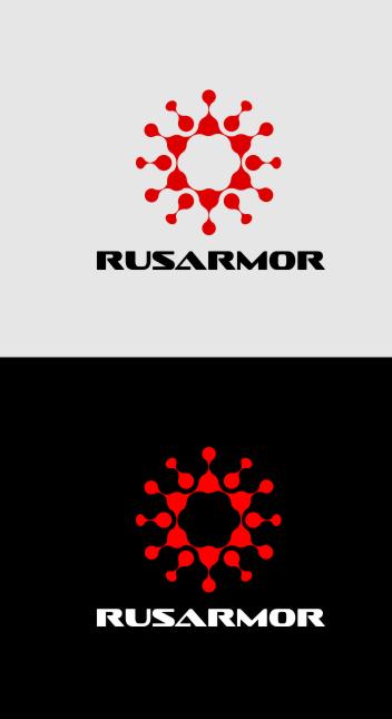 Разработка логотипа технологического стартапа РУСАРМОР фото f_3955a07191a4377f.jpg