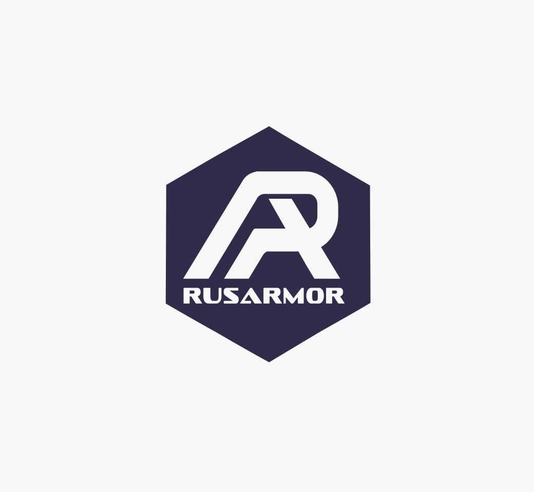 Разработка логотипа технологического стартапа РУСАРМОР фото f_8775a0f05e8e7a0b.jpg