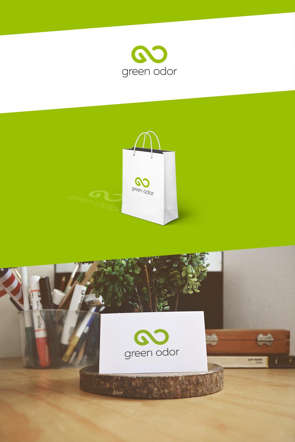 Логотип «Green Odor»