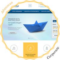 Адаптивный дизайн кредитной организации «Морской Фонд»