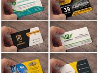 Дизайн визитки любого размера и формы