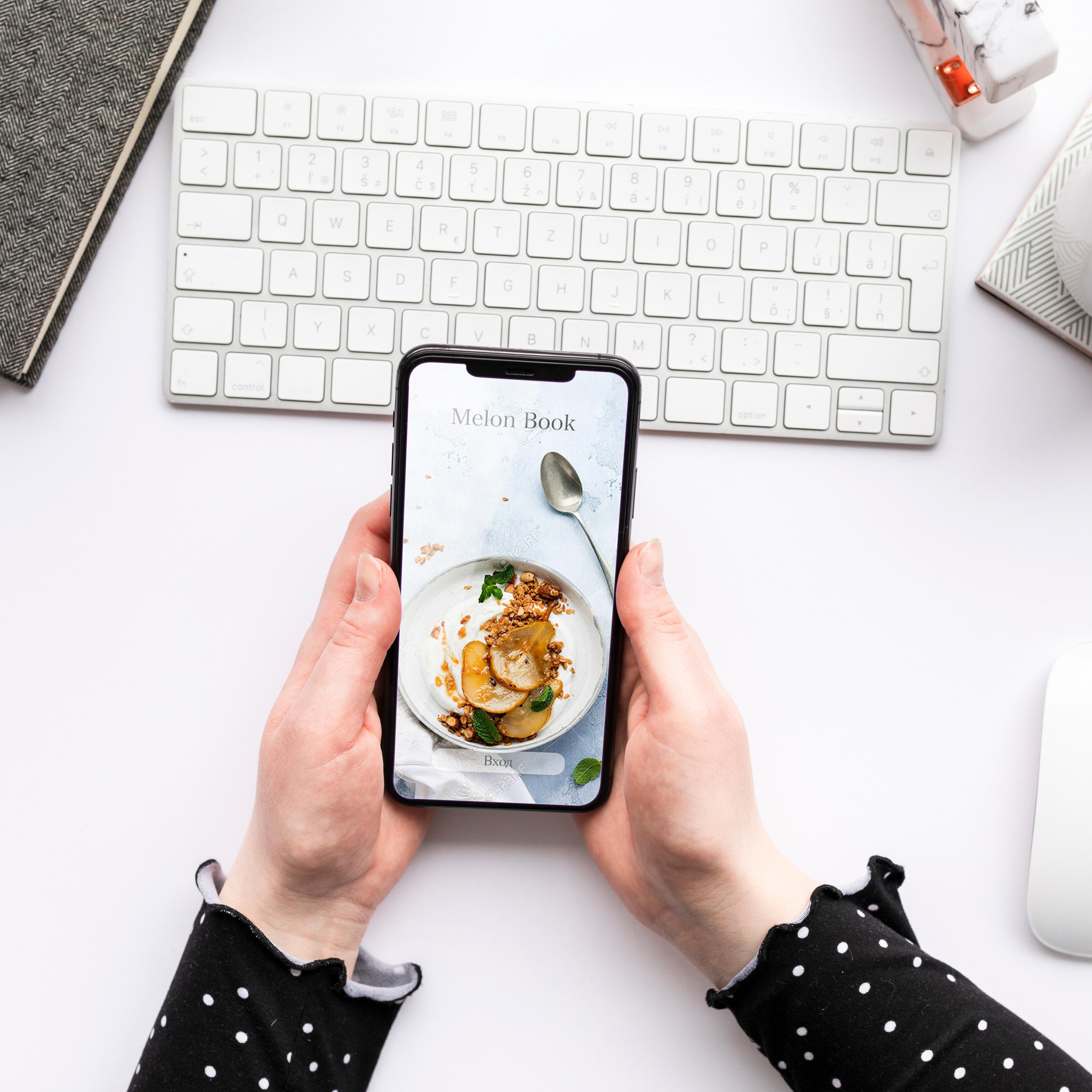 Мобильное приложение кулинария