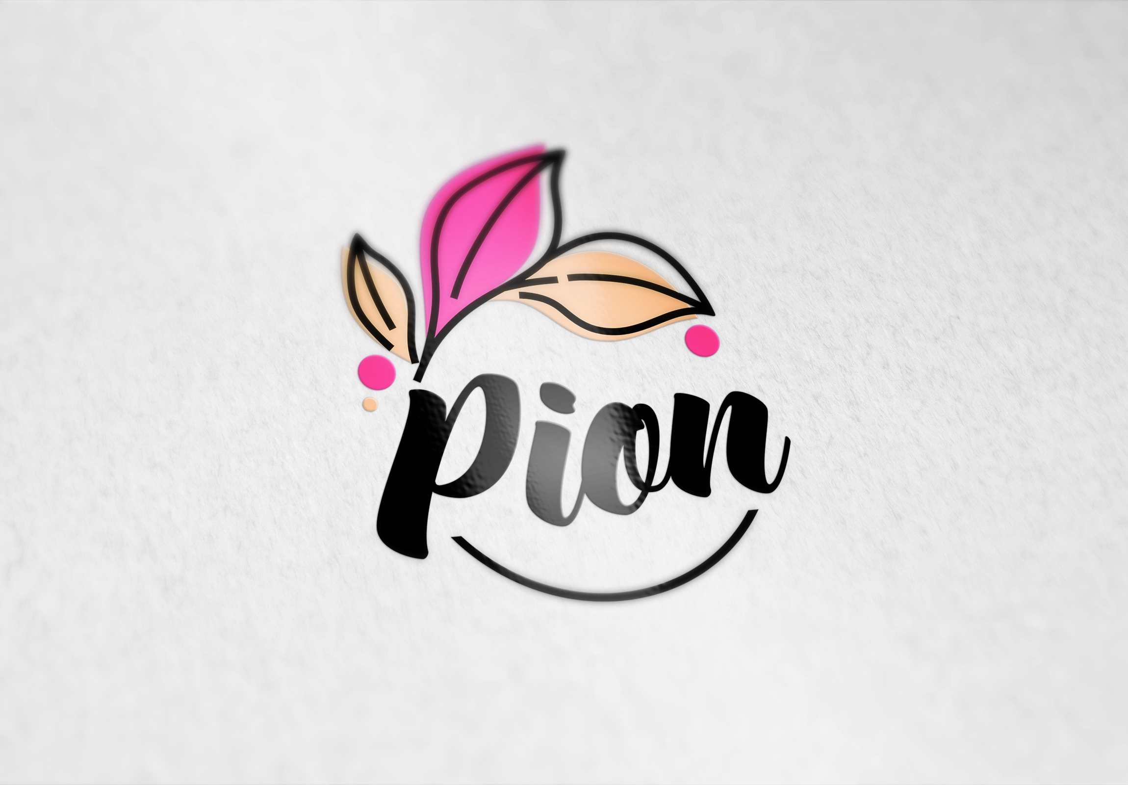 Pion logo design