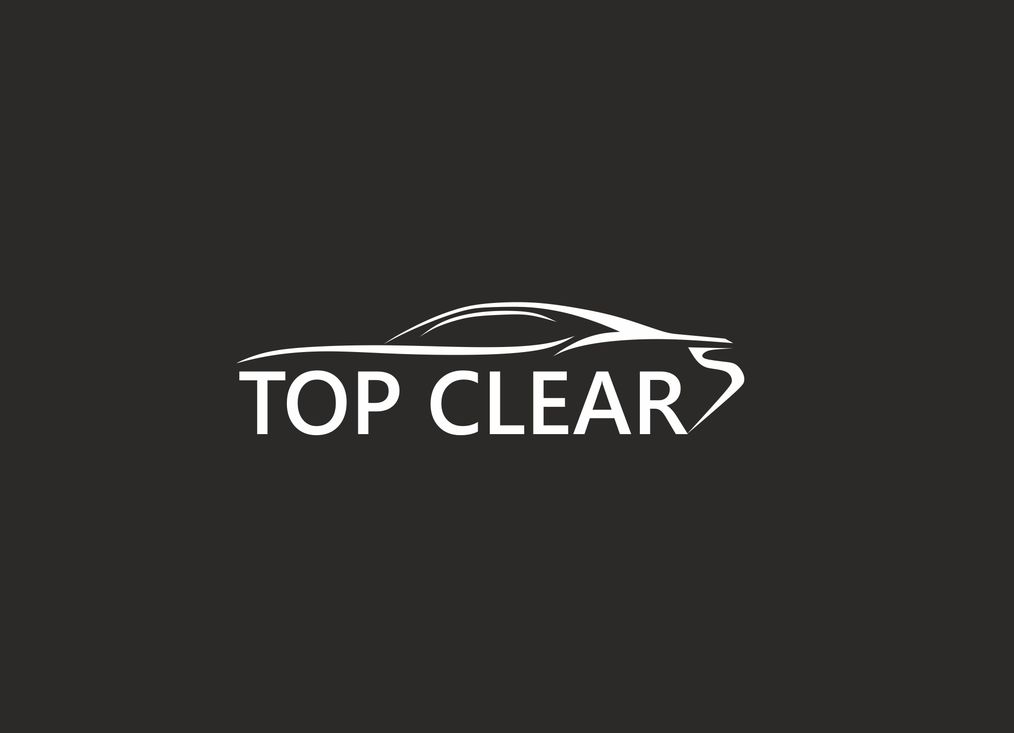 """Логотип """" Top clear """""""