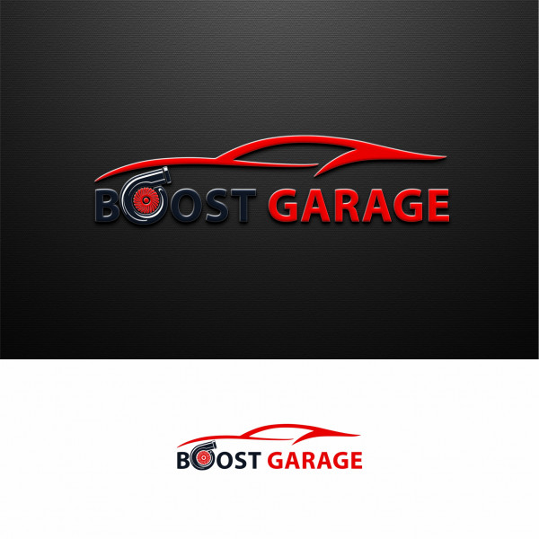 Boost Garage - logotype