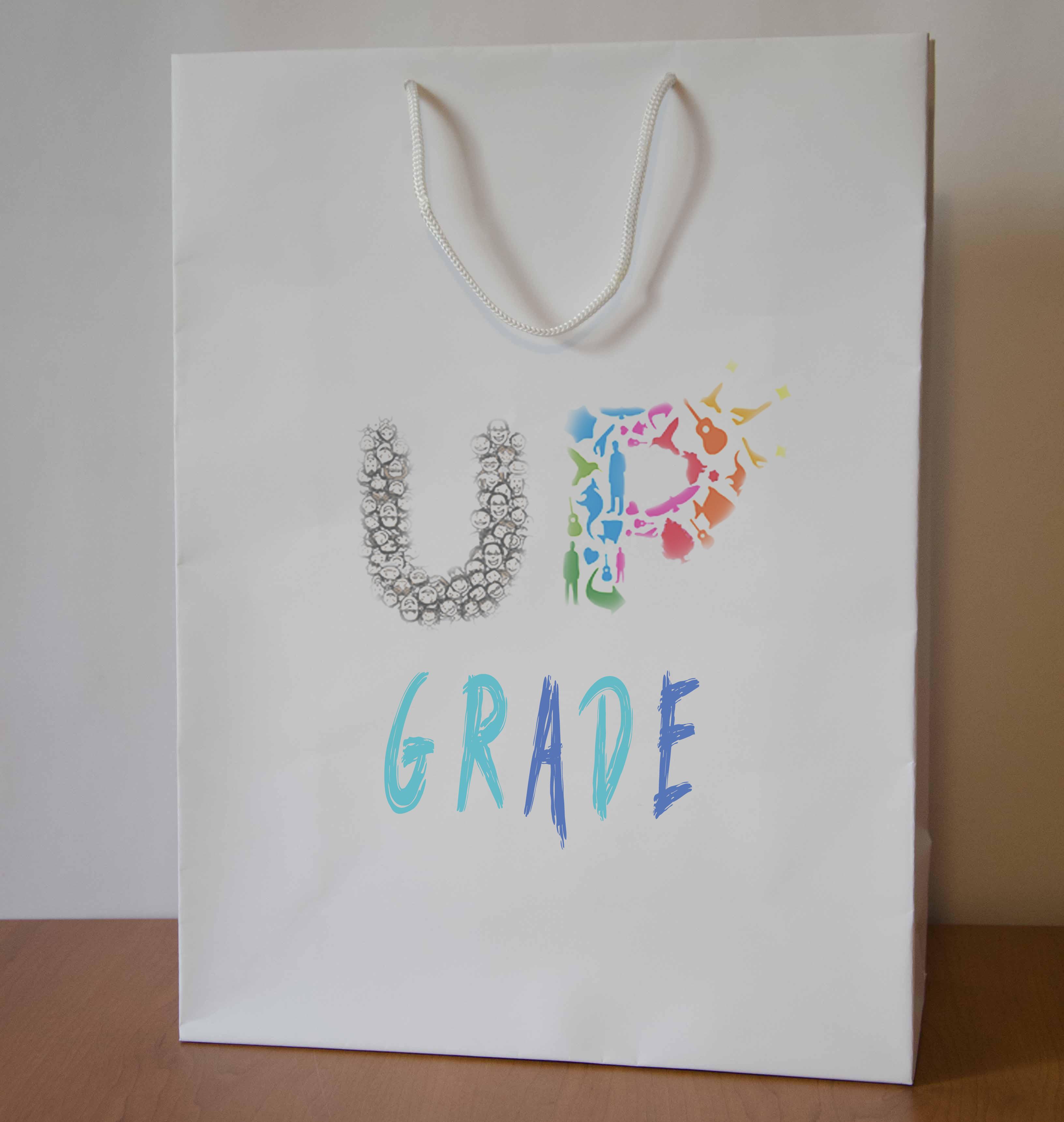 "Логотип интернет магазина ""Модный UPGRADE"" фото f_64859437a74d71f1.jpg"