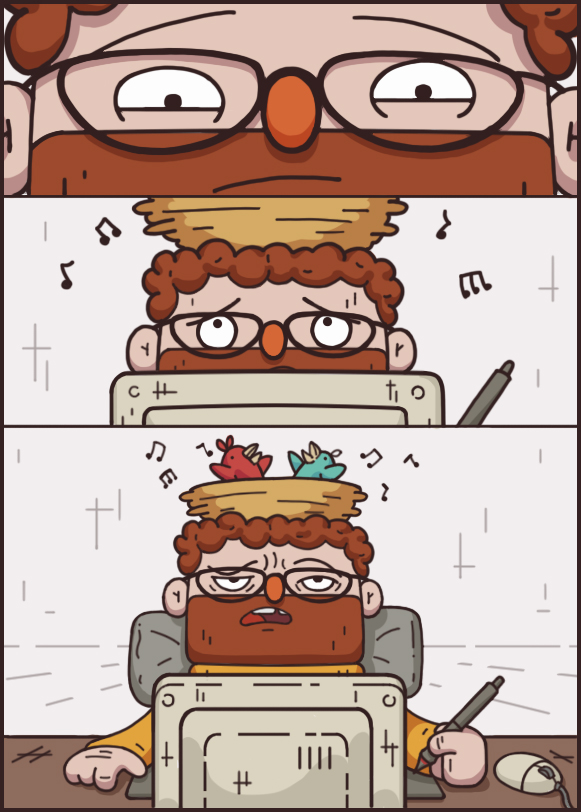 Иллюстрации для анимационного мультфильма Вадик