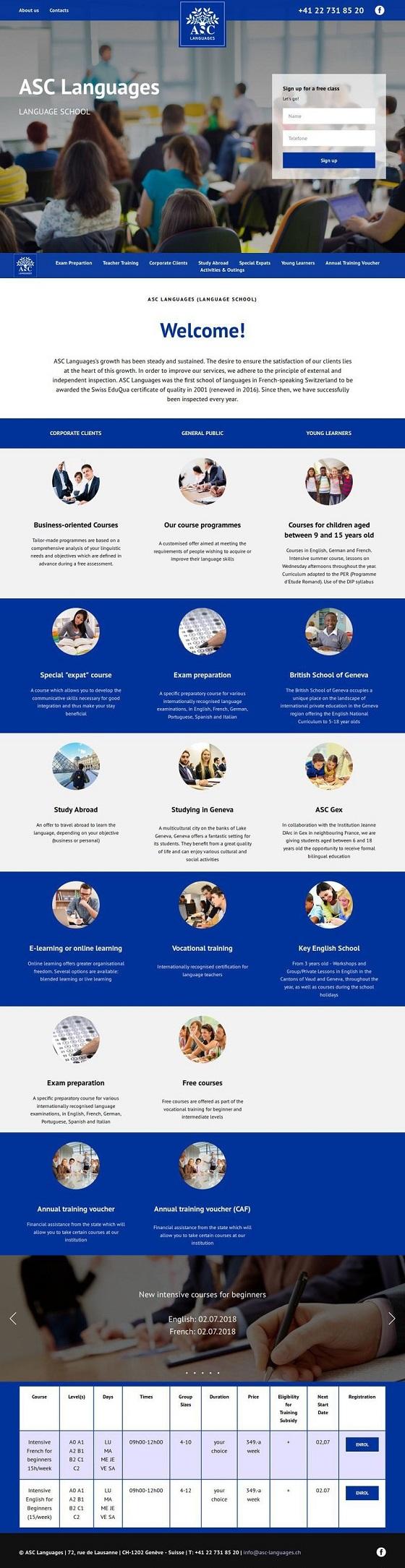 Редизайн сайта языковой школы фото f_2595b467f7c64494.jpg