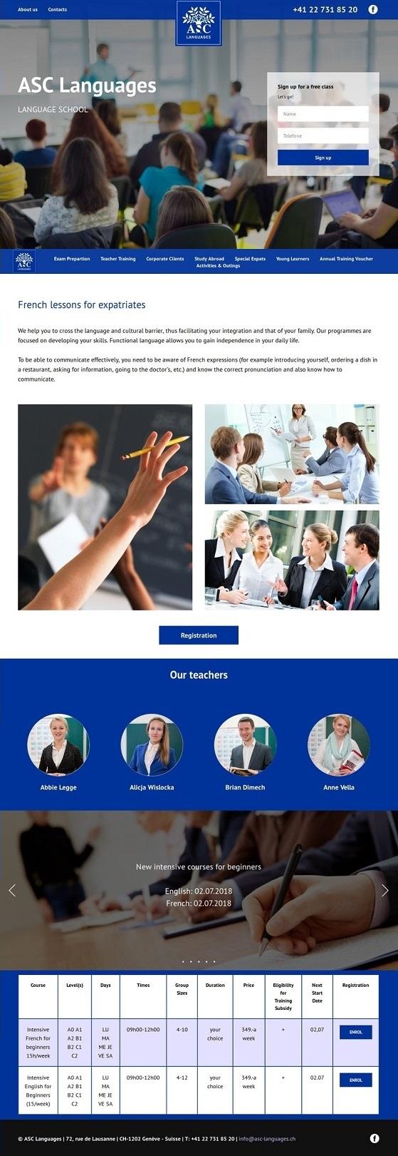 Редизайн сайта языковой школы фото f_5985b468f1d11490.jpg