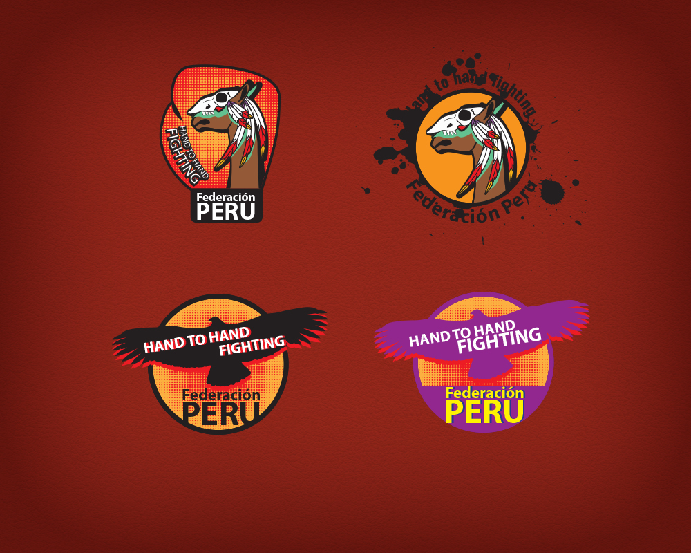 Логотип федерации рукопашного боя – Перу.