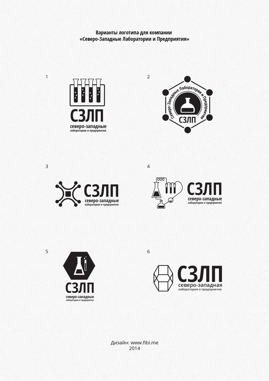 """Логотип и фирменный стиль """"Северо-Западные Лаборатории и производства"""""""