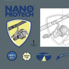 """Этикетка товара Нанопротек — """"Смазка для рыбалки"""""""