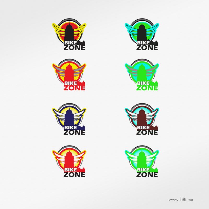 Логотип байкеров г. Выборга