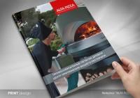 """Каталог для компании """"ALFA PIZZA"""" (дизайн-макет)"""