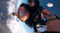 Skyjumping Action video