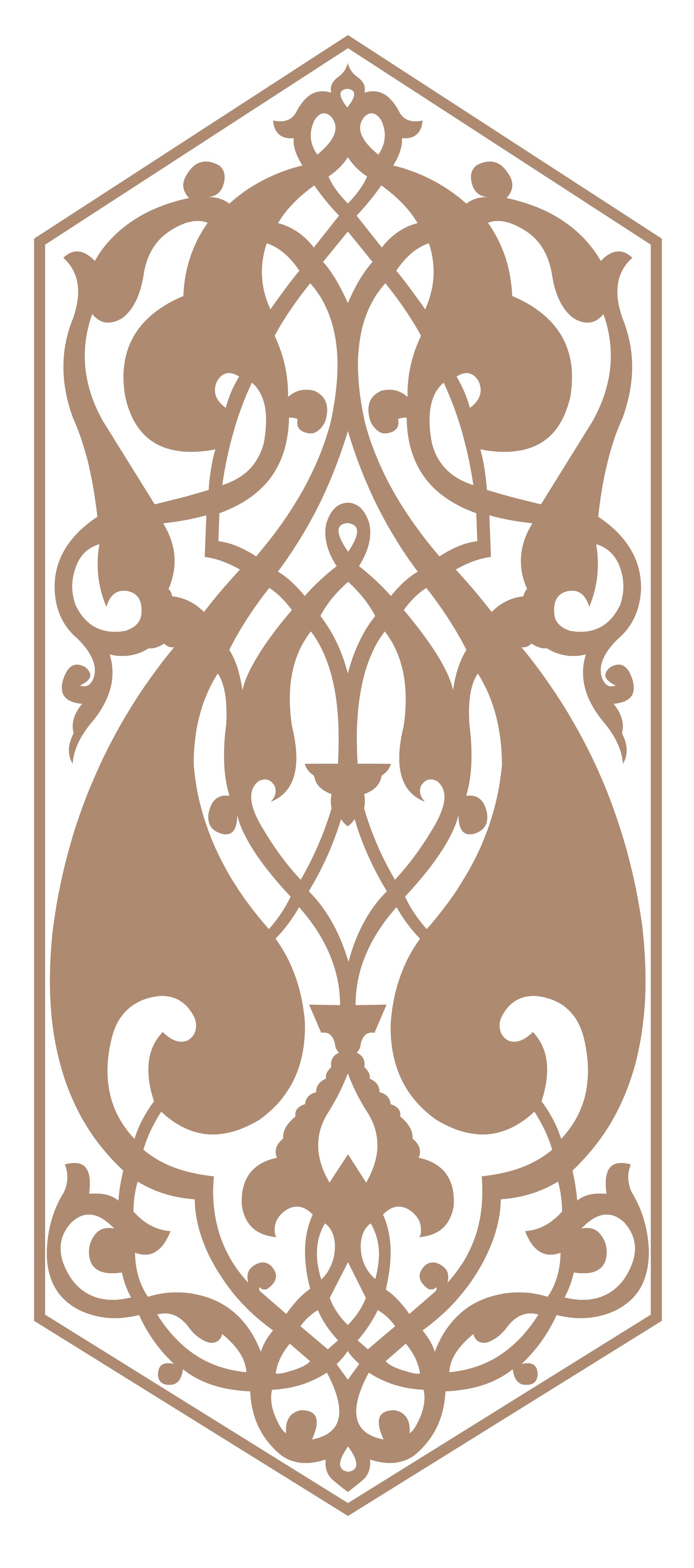 Векторная отрисовка орнамента по фото2