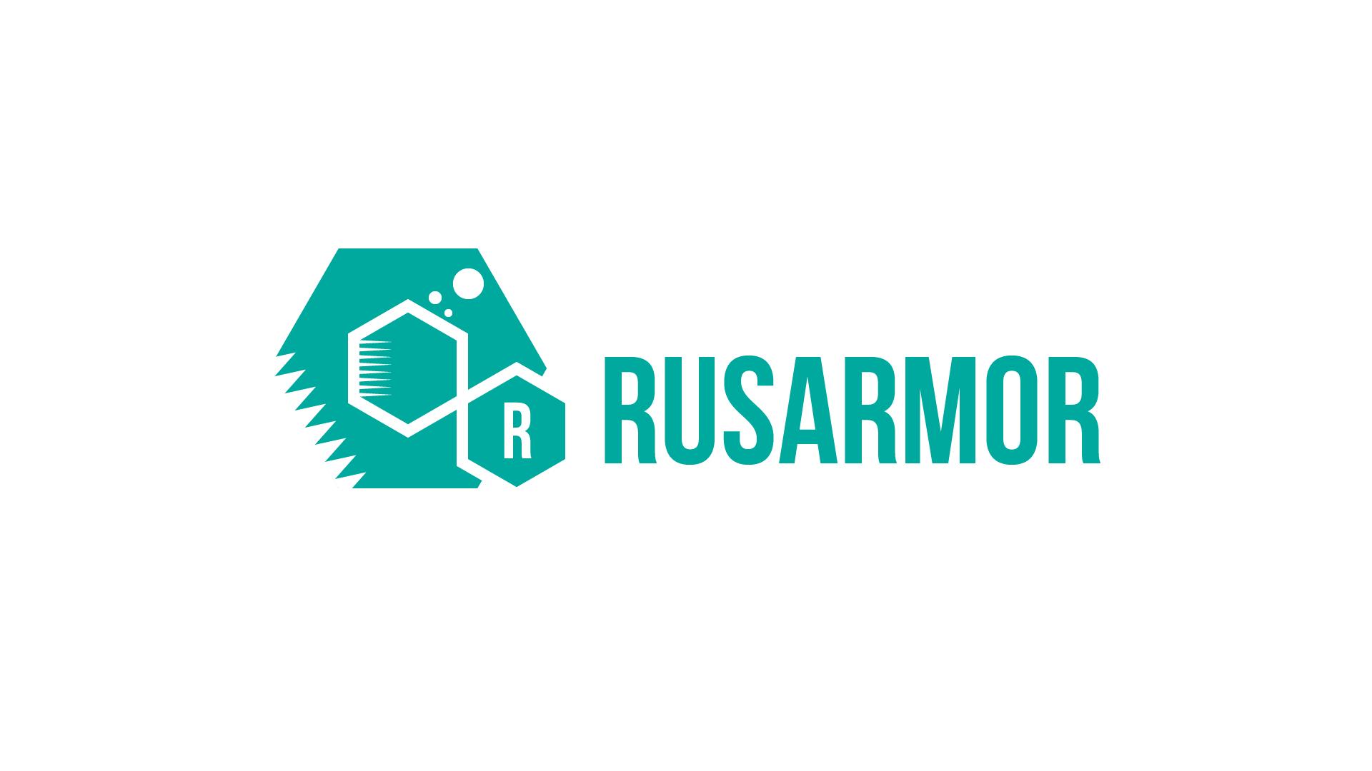 Разработка логотипа технологического стартапа РУСАРМОР фото f_2485a071cacf3738.png