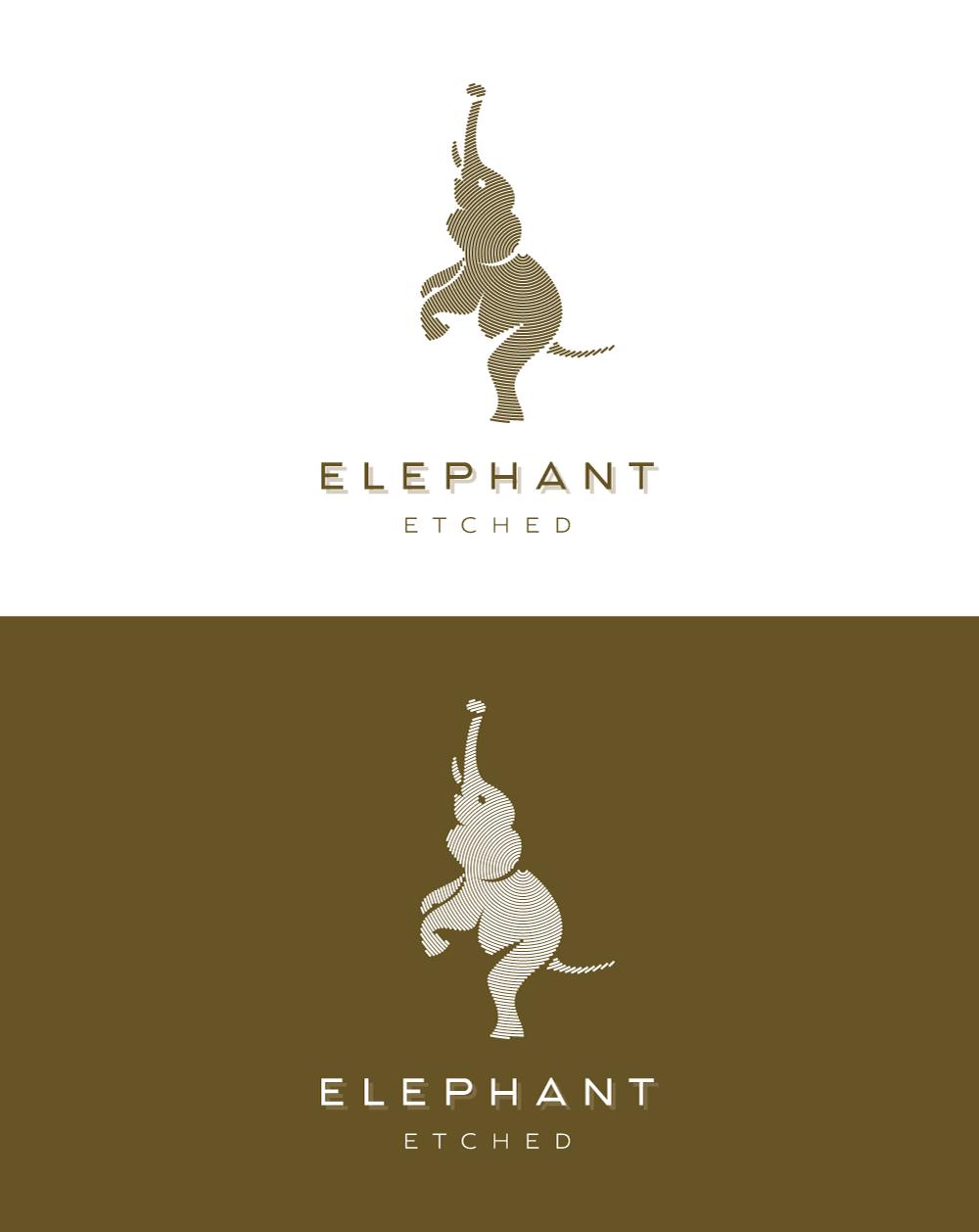 Etched Elephant