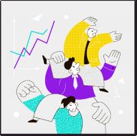 Иллюстрация команда