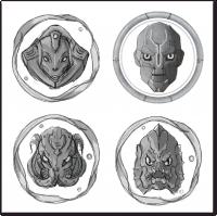 Скетчи персонажей