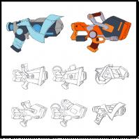 Серия игрового оружия