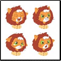 Стикеры котенок