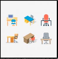 Иконки мебели