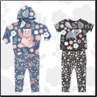 Иллюстрации для коллекции детской одежды