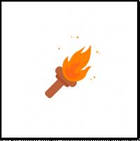 Анимация факела