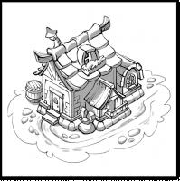 Иллюстрация избушки