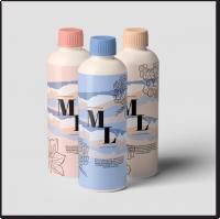 Дизайн серии упаковок геля