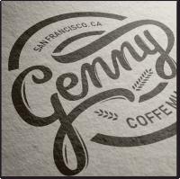 Логотип для кофейни - каллиграфия