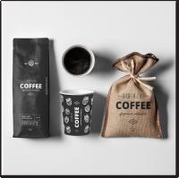 Дизайн упаковок для кофейни