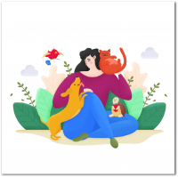 Персонажи для веб проекта